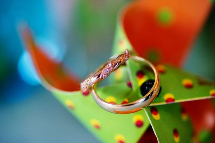 Perfect Wedding RIngs Picture