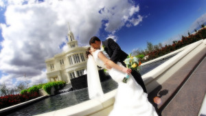 LDS Payson Utah Temple Wedding