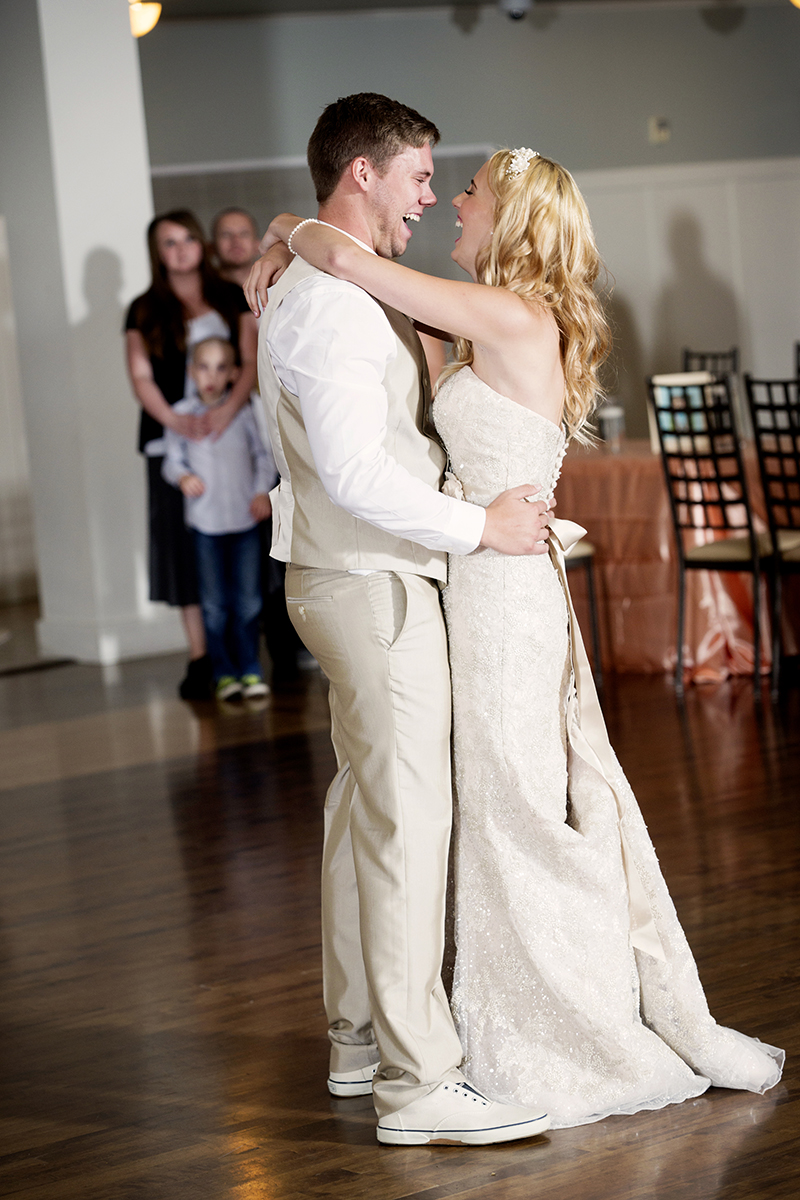 Bride & Groom First Dance Wedding Day Photos