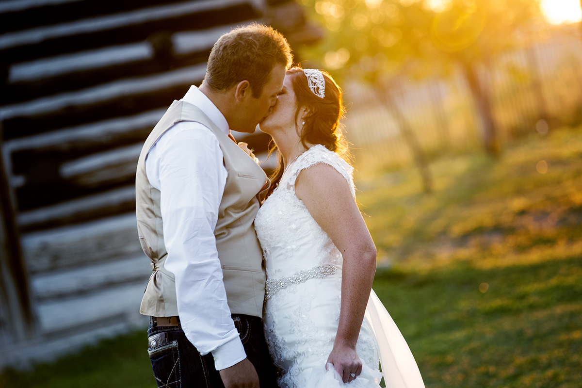 Wedding at the Benson Grist Mill