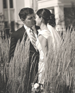 Bride & Groom at the Payson LDS Temple