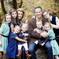 Family Photos in American Fork Canyon