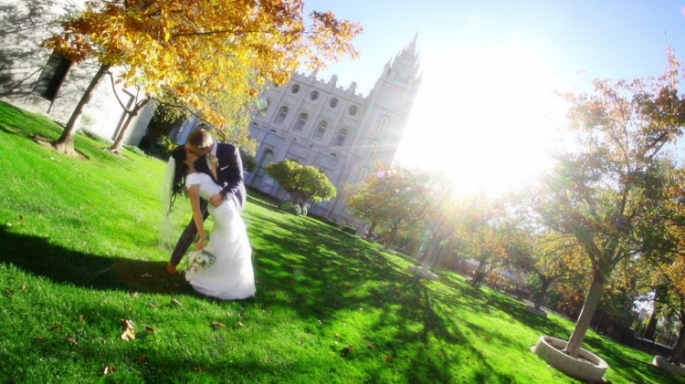Wedding Highlight at the SLC Temple