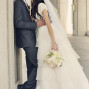 LDS Temple Weddings Mount Timpanogos arches kiss