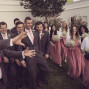 LDS Temple Weddings St George groomsmen bridesmaids