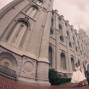 LDS Temple Weddings SLC fisheye side view