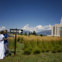 LDS Temple Weddings Oquirrh Mountain one way