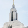 LDS Temple Weddings Statue Moroni Oquirrh Mountain