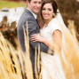 LDS Temple Weddings Payson bokeh happy