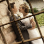 LDS Temple Weddings SLC Temple glass panes