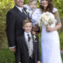 Utah Wedding Ceremony Pictures happy family