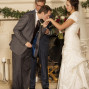 Utah Wedding Ceremony Pictures groom kiss hand