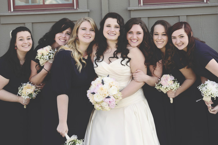 Utah Wedding Ceremony Pictures best friends