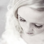 Utah Bridal Pictures bokeh eyelashes black white