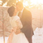 Utah Bridal Pictures big sun flare kiss