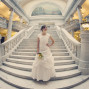 Utah Bridal Pictures state capitol building rotunda