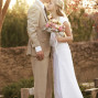 Utah Bridal Pictures kiss forehead sun flare
