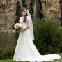 Utah Bridal Pictures Thanksgiving Point Waterfall bride