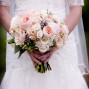 Utah Bridal Pictures Thanksgiving Point Pink Bouquet