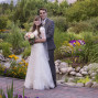 Utah Bridal Pictures Thanksgiving Point garden wedding