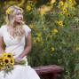 Utah Bridal Pictures sunflowers