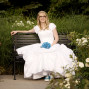 Utah Bridal Pictures blue bouquet shoes