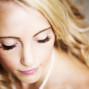 Utah Bridal Pictures eyelashes bokeh beautiful