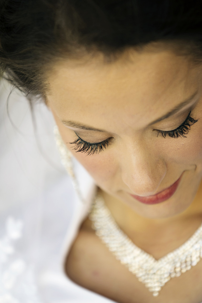 Utah Bridal Pictures eyelashes