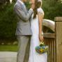 Utah Bridal Pictures sun flare bride groom