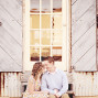 Utah Engagement Pictures Lehi State Street steps
