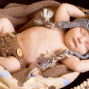 Newborn Pictures sleeping baby tarzan