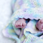 Newborn Pictures feet wrapped up