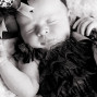 Newborn Pictures baby girl sleeping