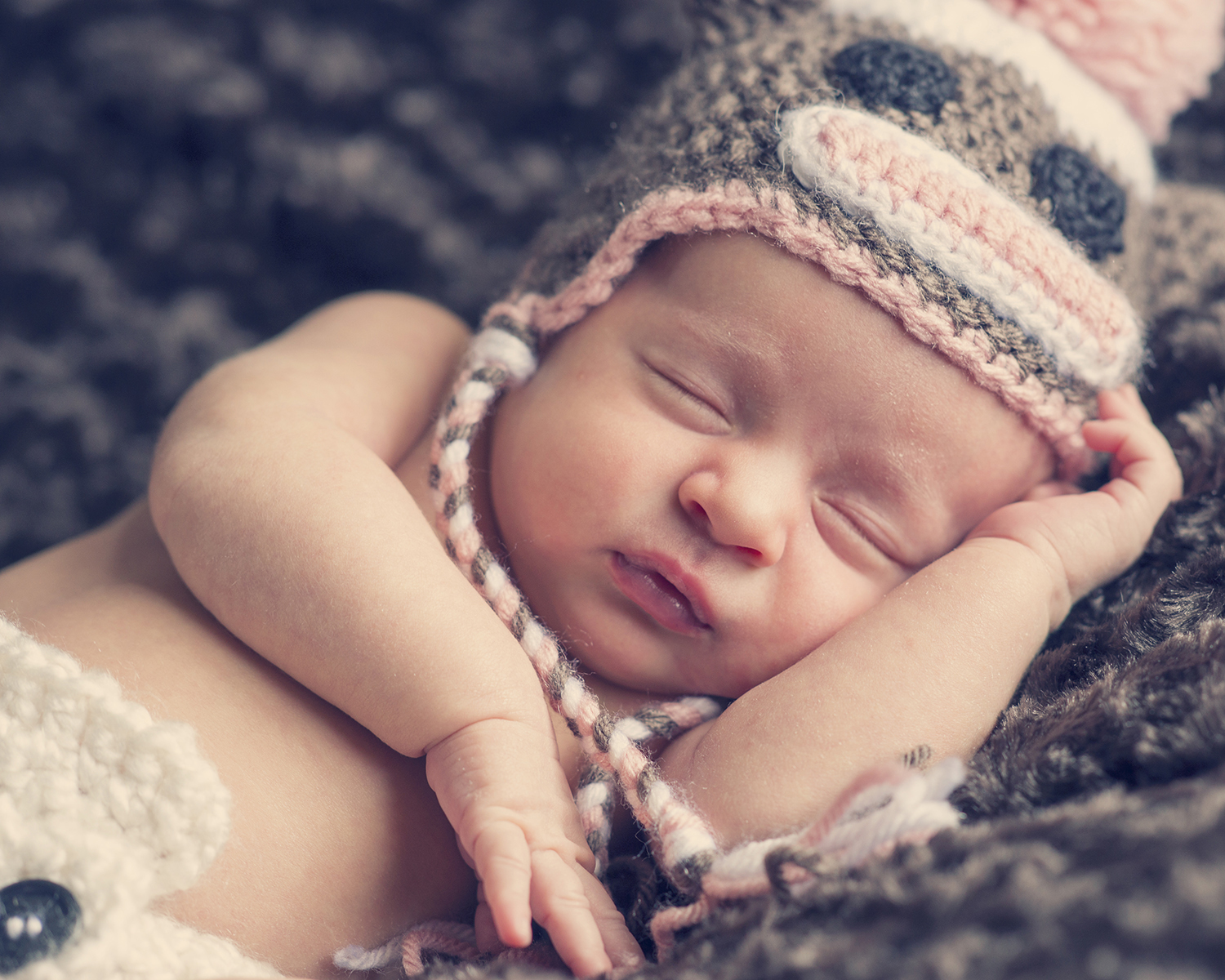 Newborn Pictures concerned baby sleeping