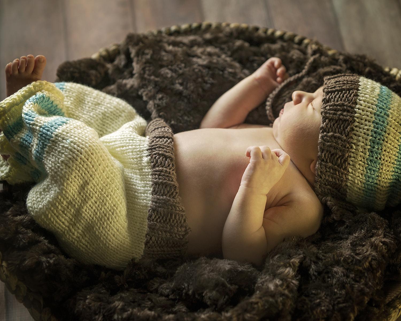 Newborn Pictures basket