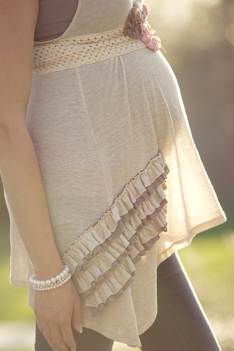 Maternity Pictures backlit sun
