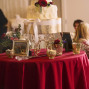 Utah Wedding Photos beautiful cake bokeh