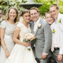 Utah Wedding Photos happy family Northampton house