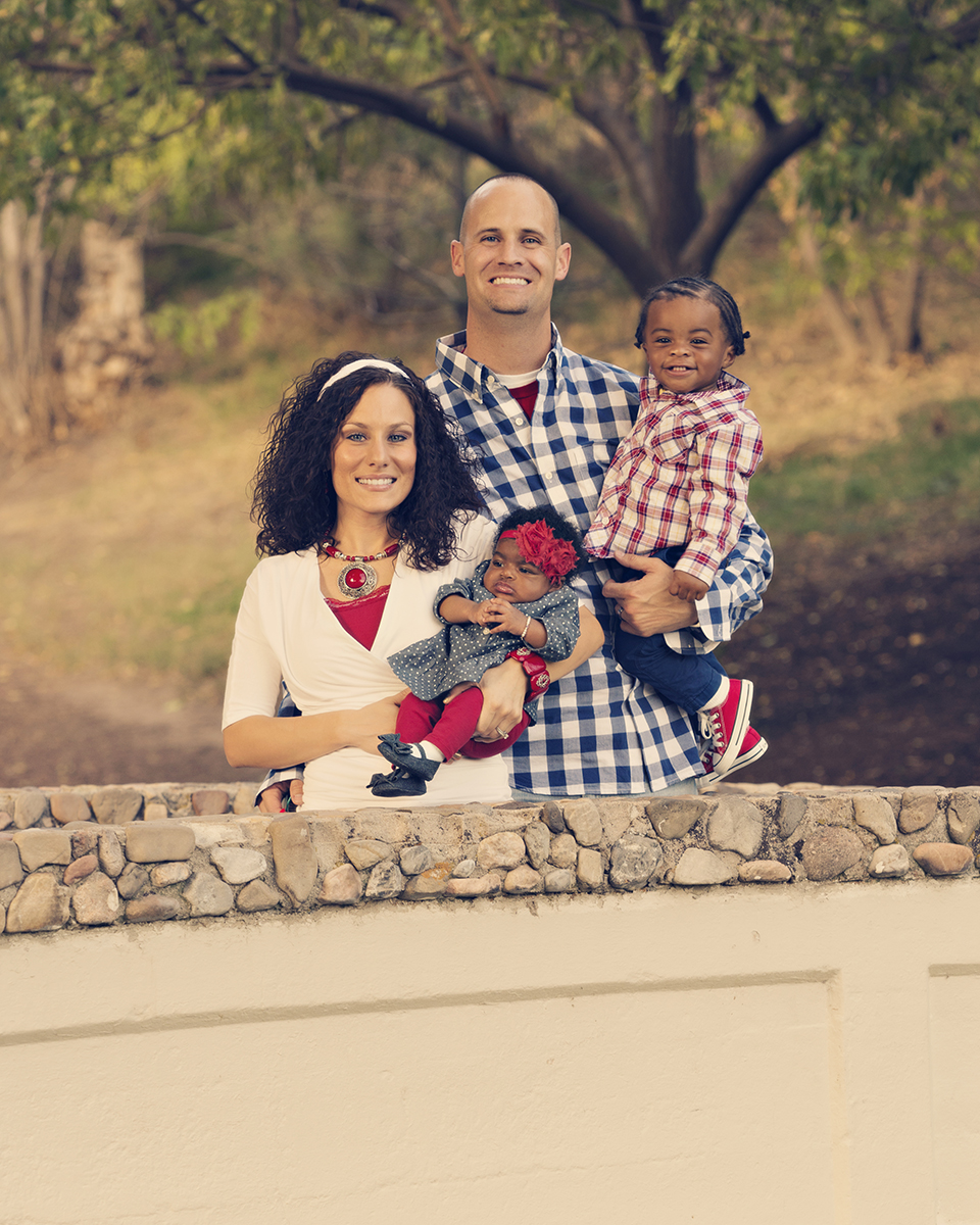 Utah Family Photos adopted kids