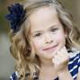 Utah Family Photos bokeh soft smile flower
