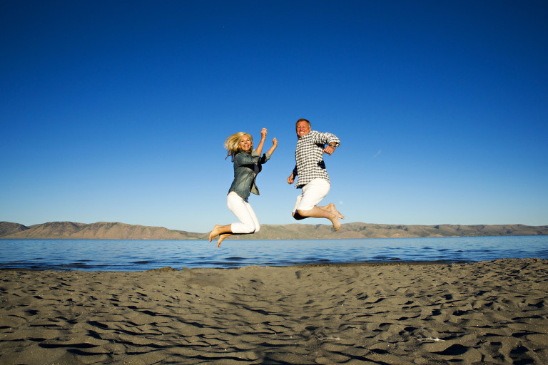 Utah Photos jumping at bear lake