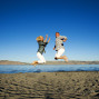 Utah Photos jumping at bear lake