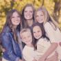 Utah Family Photos Five Siblings Bokeh