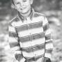 Utah Kid Photos Black and White Bokeh
