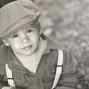 Utah Family Photos black and white kid