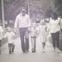 Utah Family Photos four kids black white