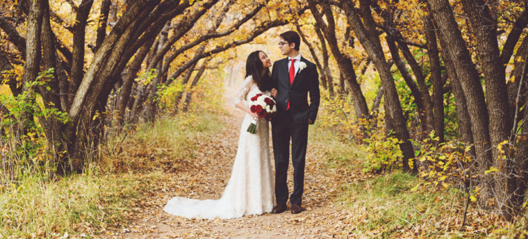 Red Butte Gardens Wedding