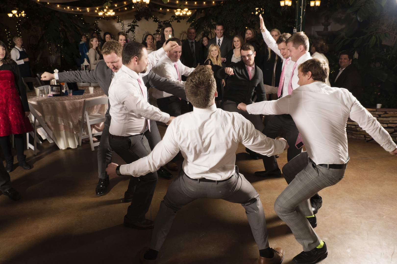 Groomsmen Dance at Wedding