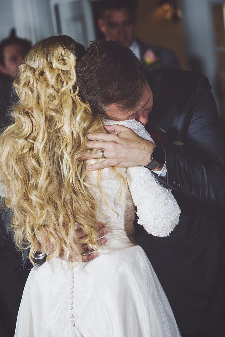 Daddy Daughter Dance hug tender moment