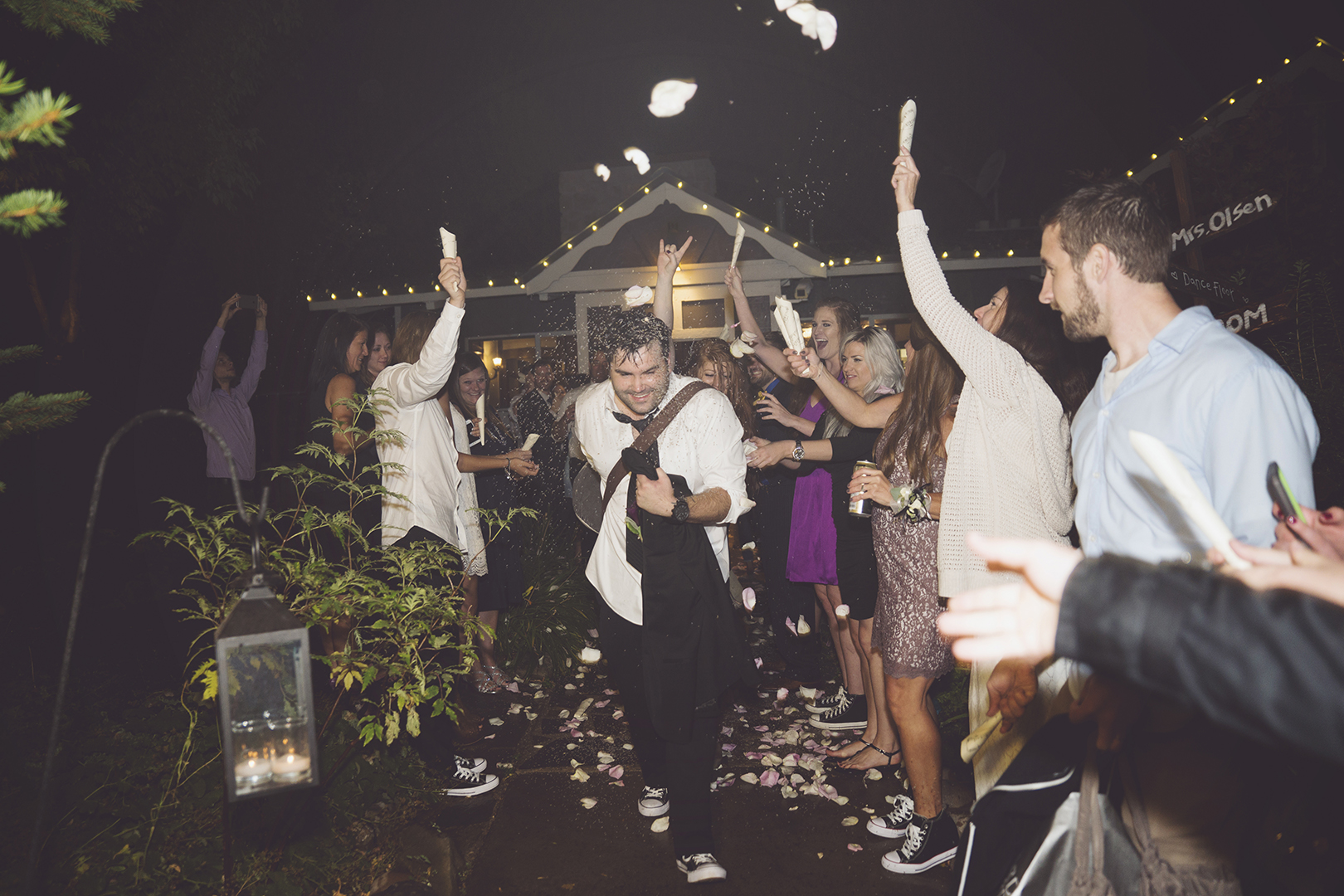 Epic Wedding Exit